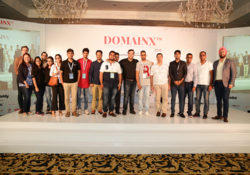 Group Photo taken at DomainX 2018